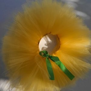 Other - Custom made Canary Yellow tutu, Girl  baby, Infant